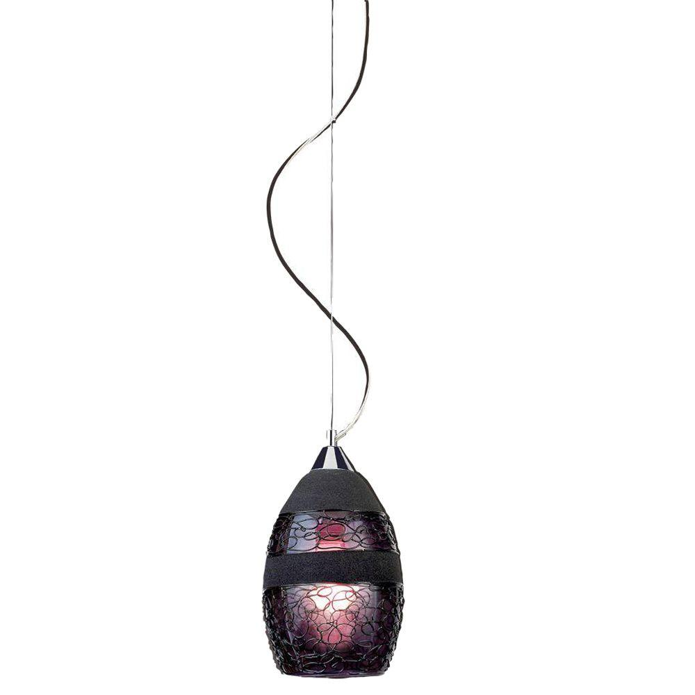 Eurofase Ayalah Collection 1-Light Chrome Pendant