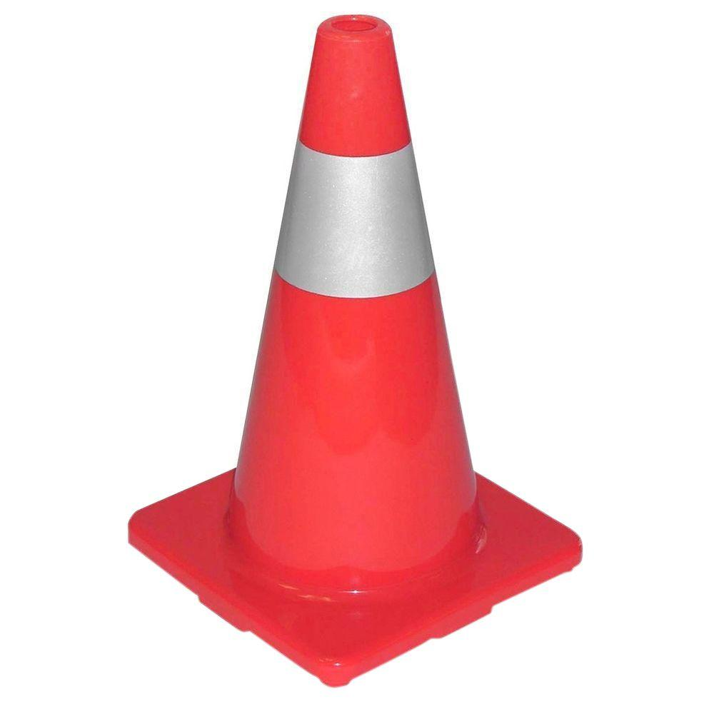 Tatco Sturdy Molded Reflective Traffic Cone Tco25500 The