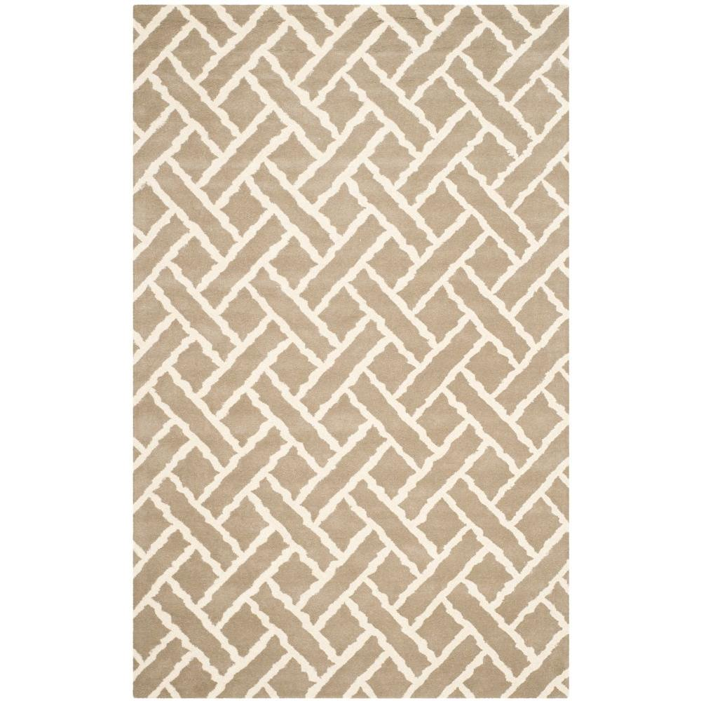 Safavieh Chatham Beige/Ivory 5 ft. x 8 ft. Area Rug