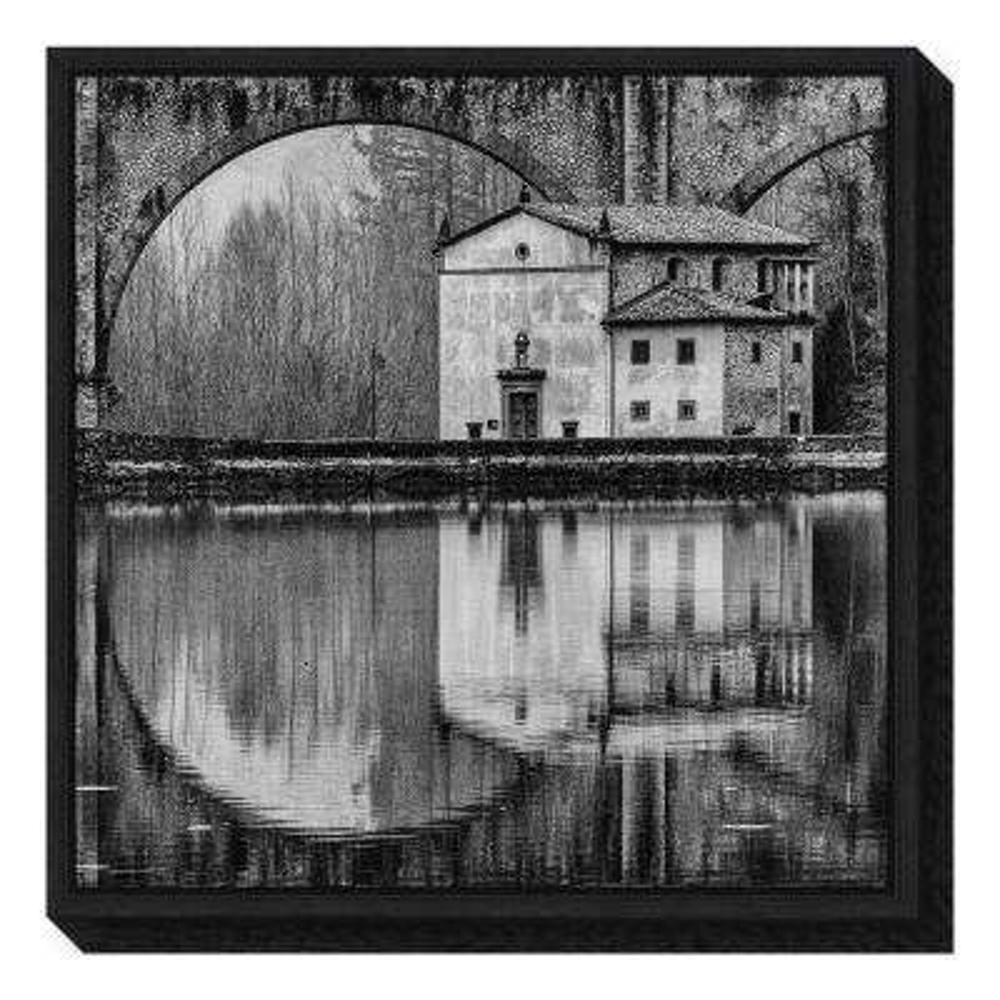 """""""Water Architecture"""" by Massimo Della Latta Framed Canvas Wall Art"""