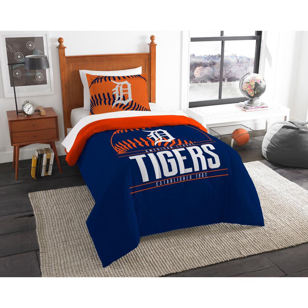 Tigers 3-Piece Multi Color GrandSlam Twin Comforter Set