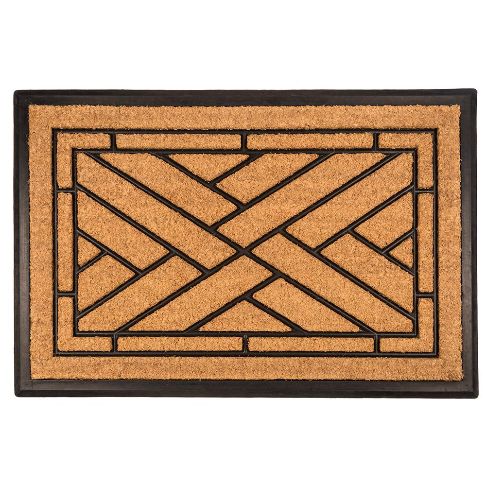 Entryways Diagonal Tiles 24 In X 36 In Recycled Rubber