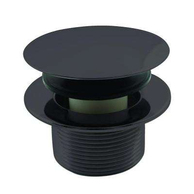 1-1/2 in. NPSM Round Mushroom Coarse Thread Drain in Oil Rubbed Bronze