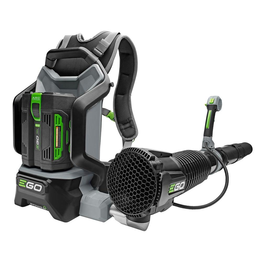 EGO Reconditioned 145 MPH 600 CFM 56V Lithium-Ion Cordless Electric Backpack Blower, 5.0 Ah Battery and Charger Included