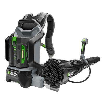 Reconditioned 145 MPH 600 CFM 56V Lithium-Ion Cordless Electric Backpack Blower, 5.0 Ah Battery and Charger Included