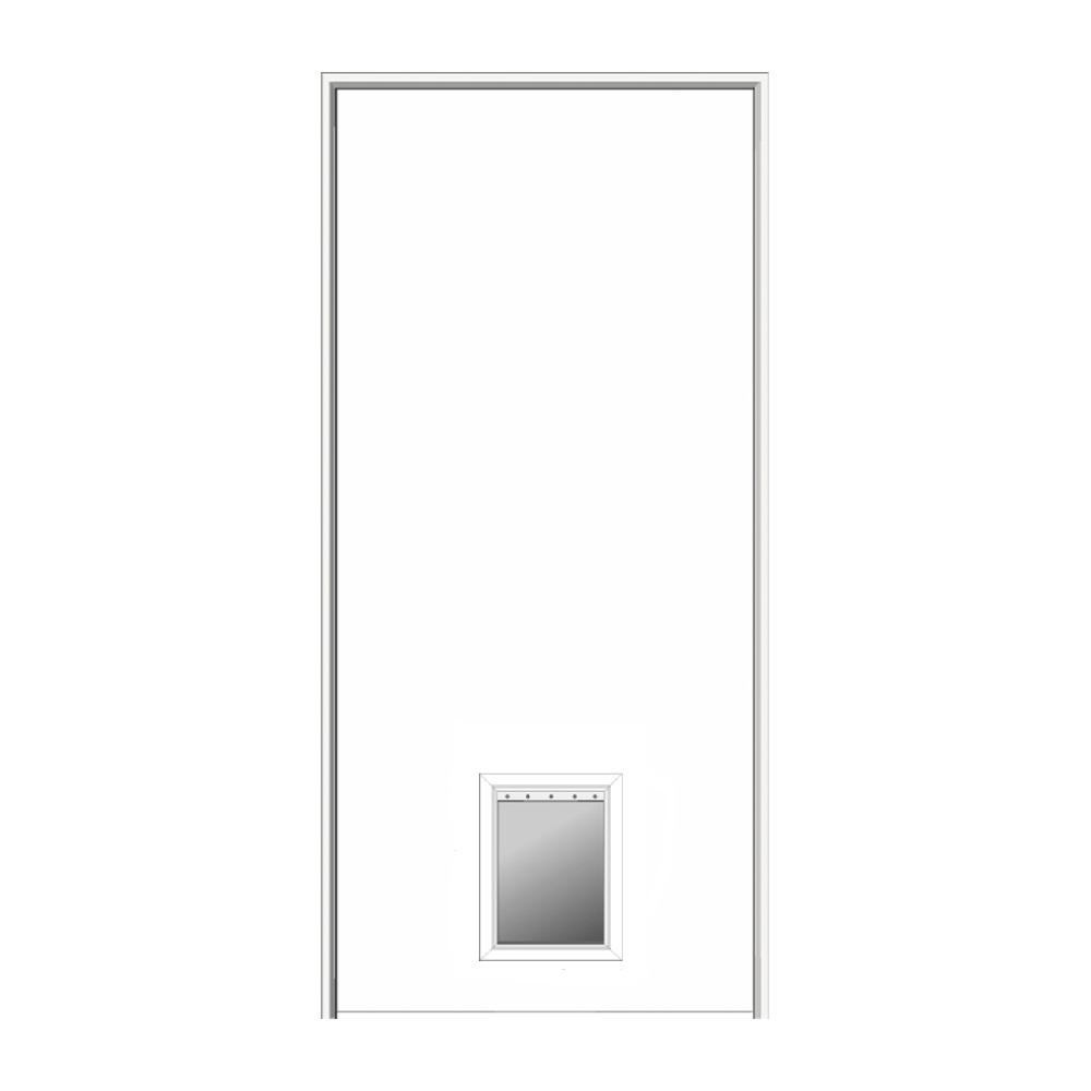 MMI Door 32 in. x 80 in. 1-3/8 in.  sc 1 st  The Home Depot & MMI Door 32 in. x 80 in. 1-3/8 in. Thick Flush Right-Hand Solid ... pezcame.com
