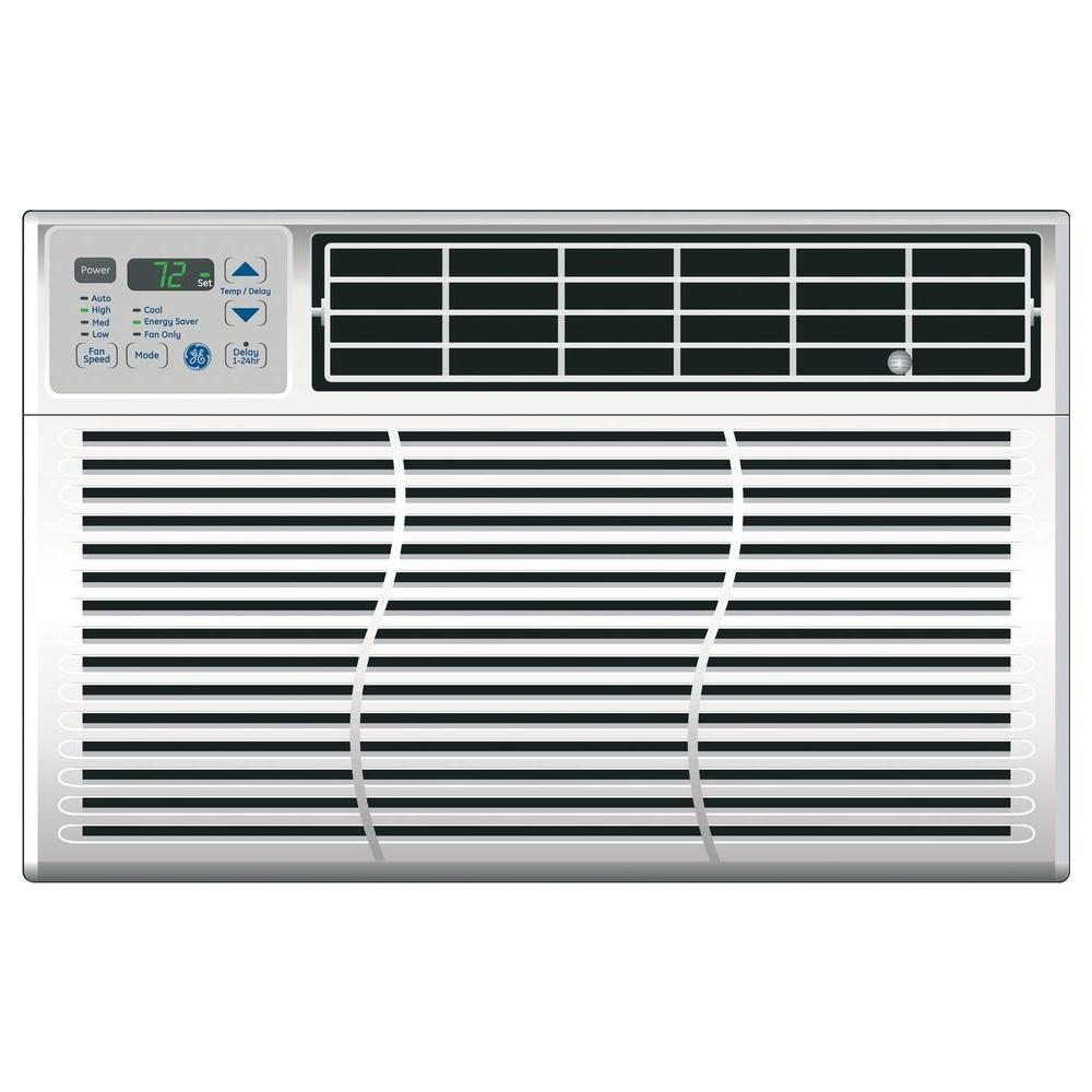 GE 8,000 BTU 115-Volt Electronic Window Air Conditioner with Remote