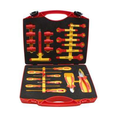 Aven Insulated Safety Tool Kit, 24 Piece