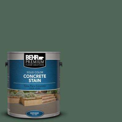 1 gal. #PFC-40 Green Solid Color Interior/Exterior Concrete Stain
