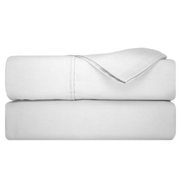 Nouvelle Home Repose 800 Thread Count White King Sheet Set SSGC045CST8WH