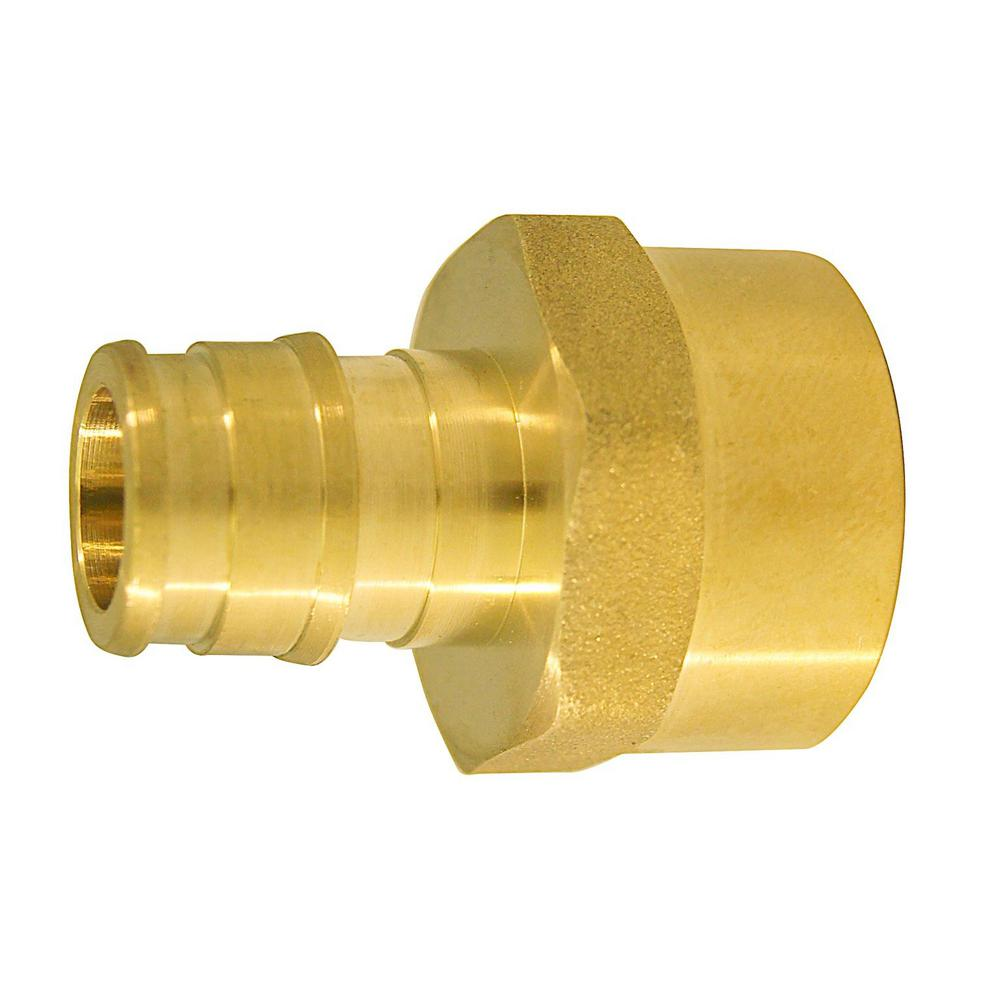 1/2 in. Brass PEX-A Expansion Barb x 1/2 in. FNPT Female