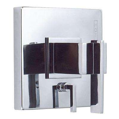 Sirius 1-Handle Tub and Shower Faucet Trim Only with Diverter in Chrome (Valve Not Included)