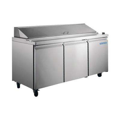 18 cu. ft. Commercial Refrigerator in Stainless Steel