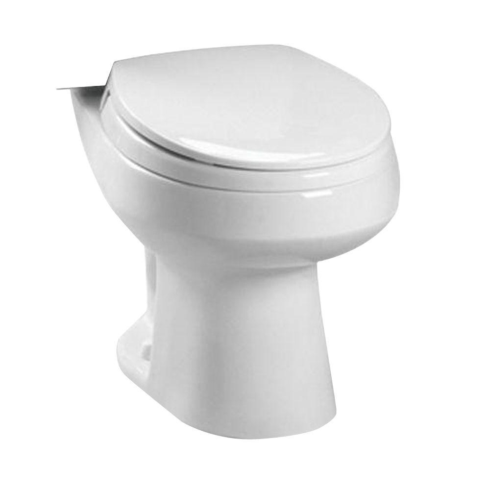 TOTO Carusoe Elongated Toilet Bowl Only in Cotton White