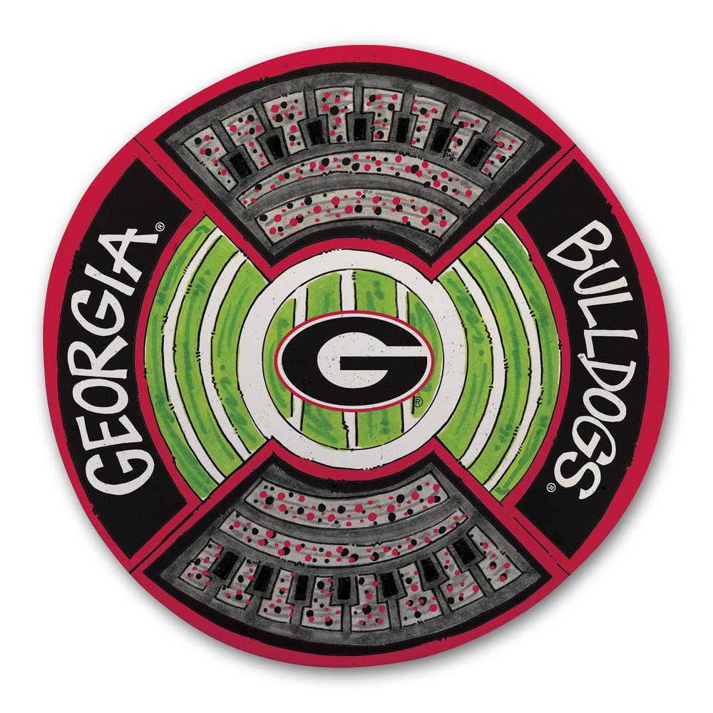 University of Georgia Football Stadium Melamine Platter