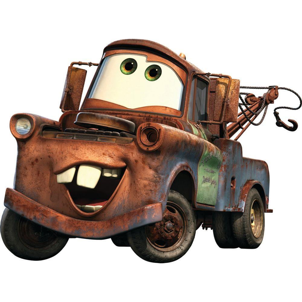 Fathead 50 in. x 37 in. Mater from Cars Wall Decal