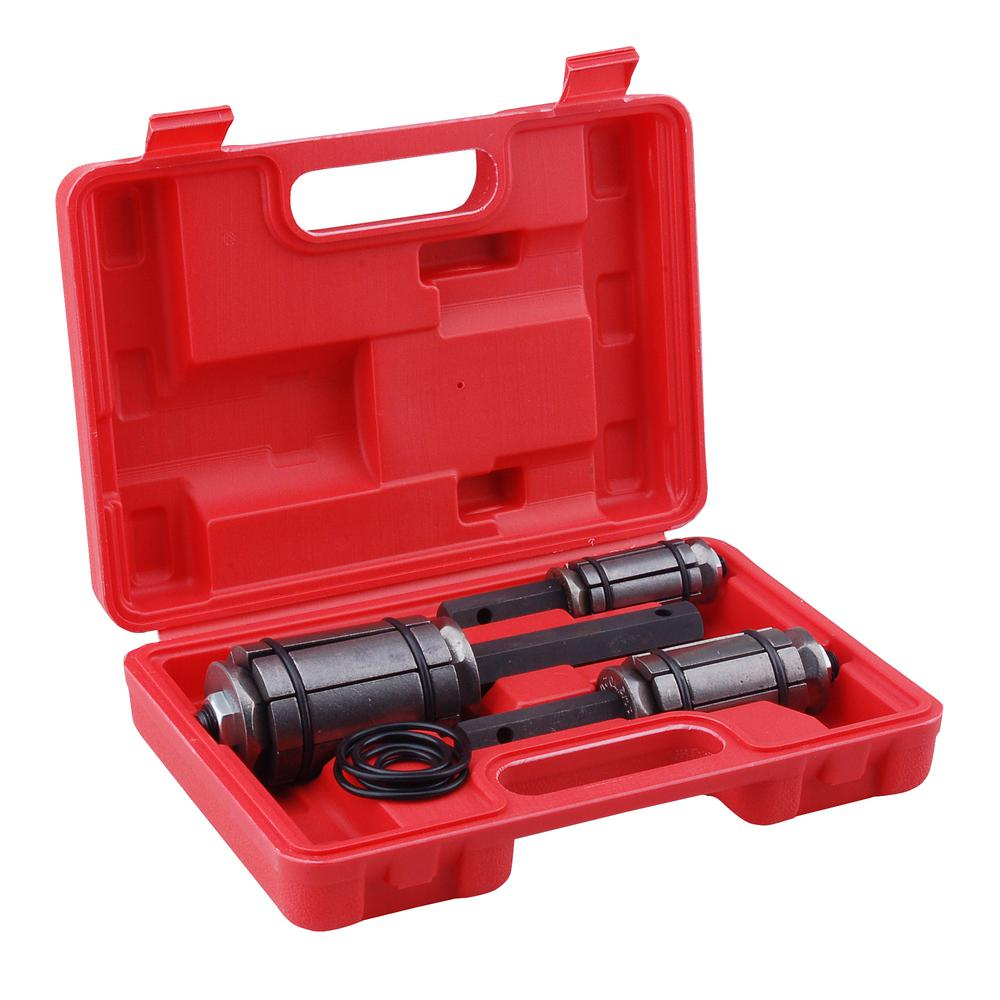 Speedway 1 1 8 In To 3 1 4 In Exhaust Muffler Tail Pipe Expander Tool Set With Case 3 Piece 39451 The Home Depot