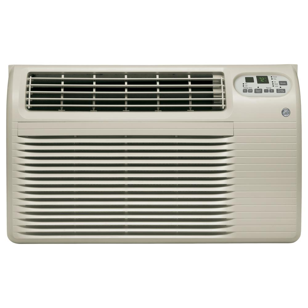 GE 10,100 BTU 230/208-Volt Built-In Cool-Only Room Air Conditioner in Gray