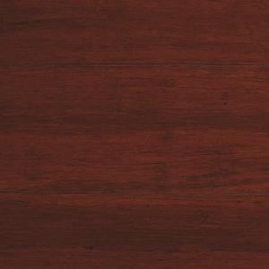Home Decorators Collection Strand Woven Mahogany 1/2 In. T X 5 1/8 In. W X  72 In. L Solid Bamboo Flooring HD13006C   The Home Depot