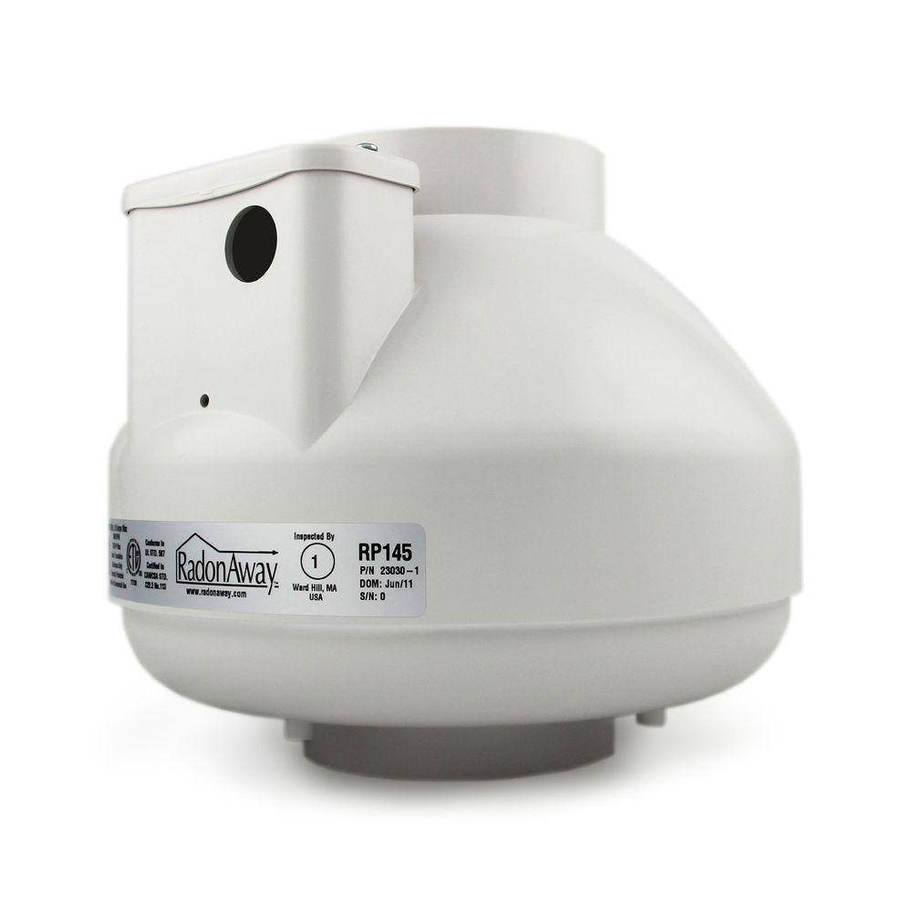 RP145c Radon Mitigation Fan