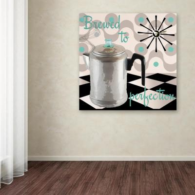 """24 in. x 24 in. """"Fifties Kitchen V"""" by Color Bakery Printed Canvas Wall Art"""