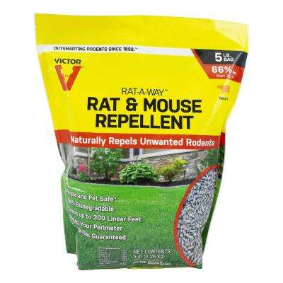 Rat-A-Way 5 lbs. Rat and Mouse Repellent Granules