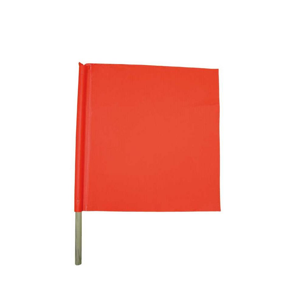 18 in. x 18 in. Safety Flag (2-Pack)