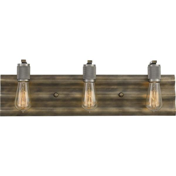 Spinnaker 3-Light Statuary Bronze Vanity Light