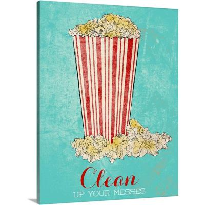 """""""Clean Up Your Messes"""" by SD Graphics Studio Canvas Wall Art"""