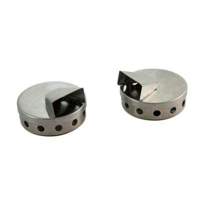 Stainless Smoke Puck / Set 2