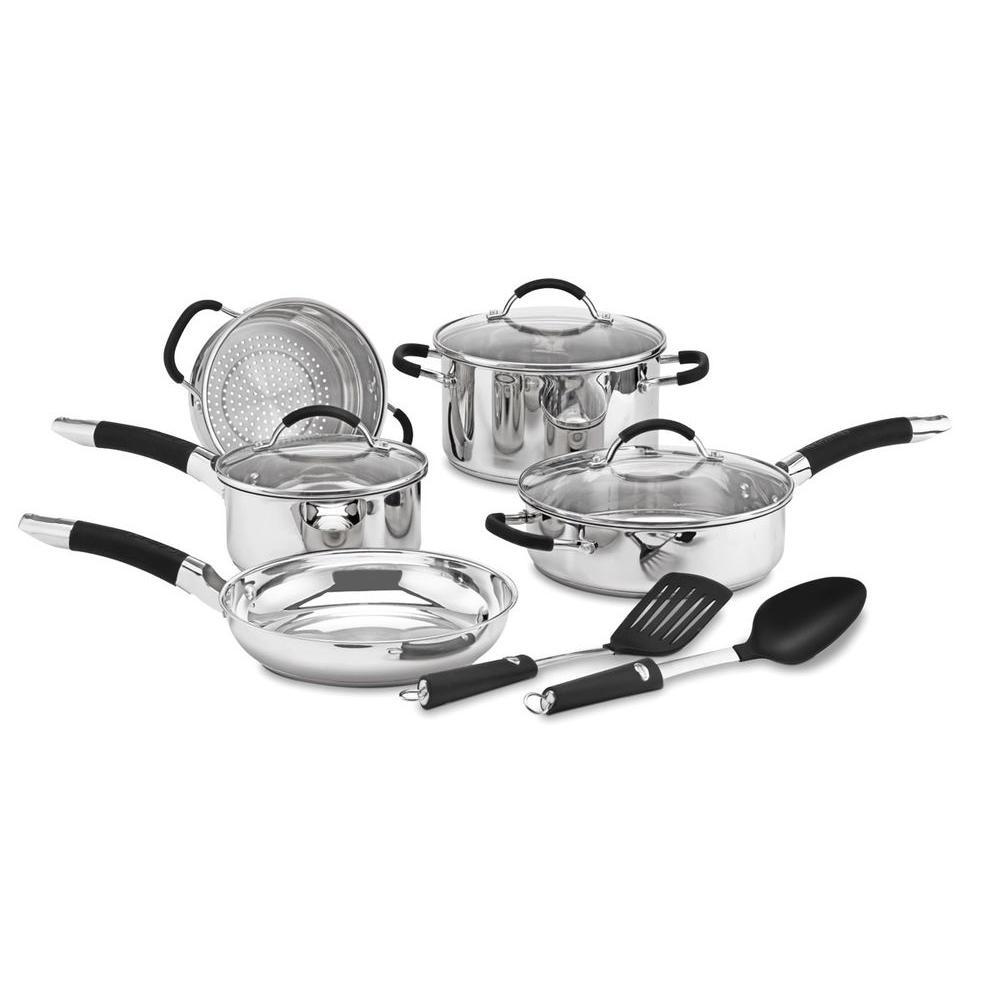 Cuisinart Pro Classic 10-Piece Stainless Steel Cookware Set