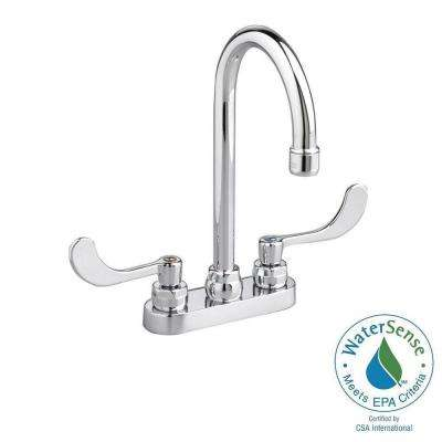 Monterrey 4 in. Centerset 2-Handle High-Arc Bathroom Faucet in Chrome