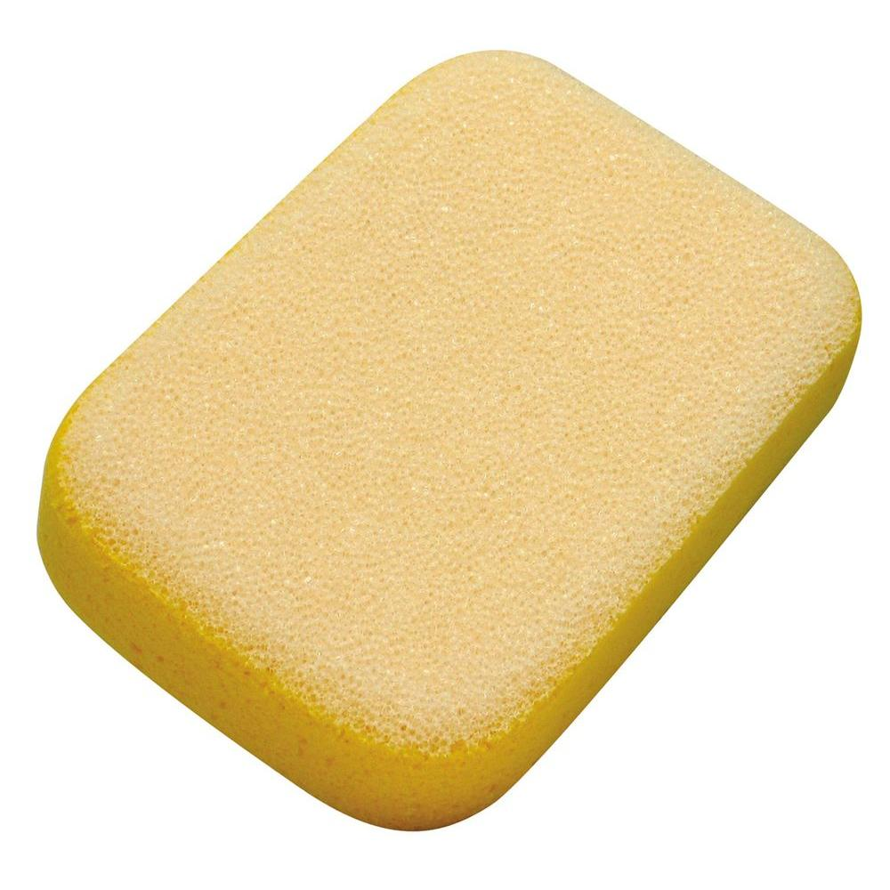 M-D Building Products Scrubbing Sponge This Scrubbing Sponge is two sponges for this price of one. Made with a grout sponge on one side and a scrubbing sponge on the other. It is designed to clean up any remaining grout haze or hardened grout.