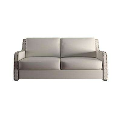Sloane 1 Piece Off White Linen Sofa