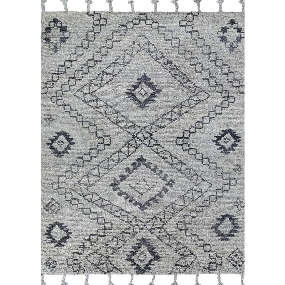 Couristan Lima Andes Elevation Grey 9 ft. x 12 ft. Area Rug Couristan Lima Andes Elevation Grey 9 ft. x 12 ft. Area Rug