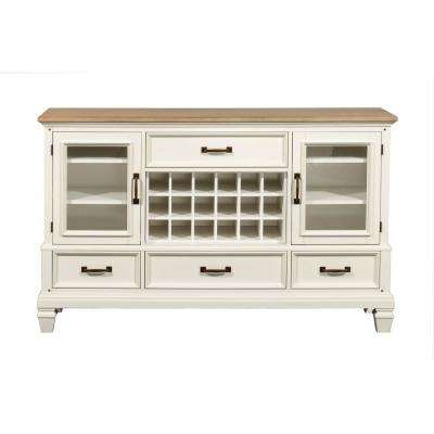 Rockport White and Driftwood Buffet