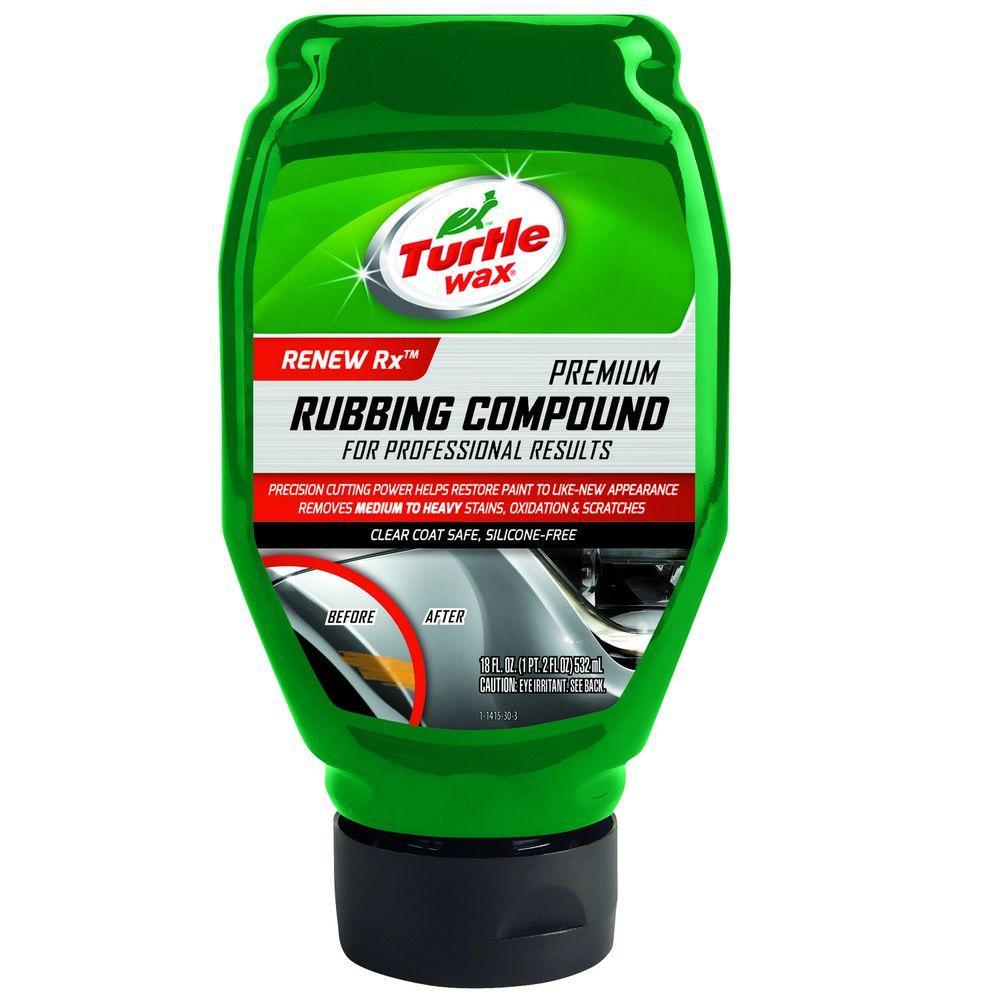 TURTLE WAX 18 oz. Premium Rubbing Compound