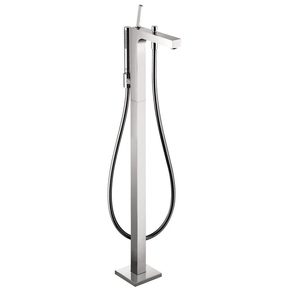 Hansgrohe Citterio 1-Handle Freestanding Roman Tub Filler...