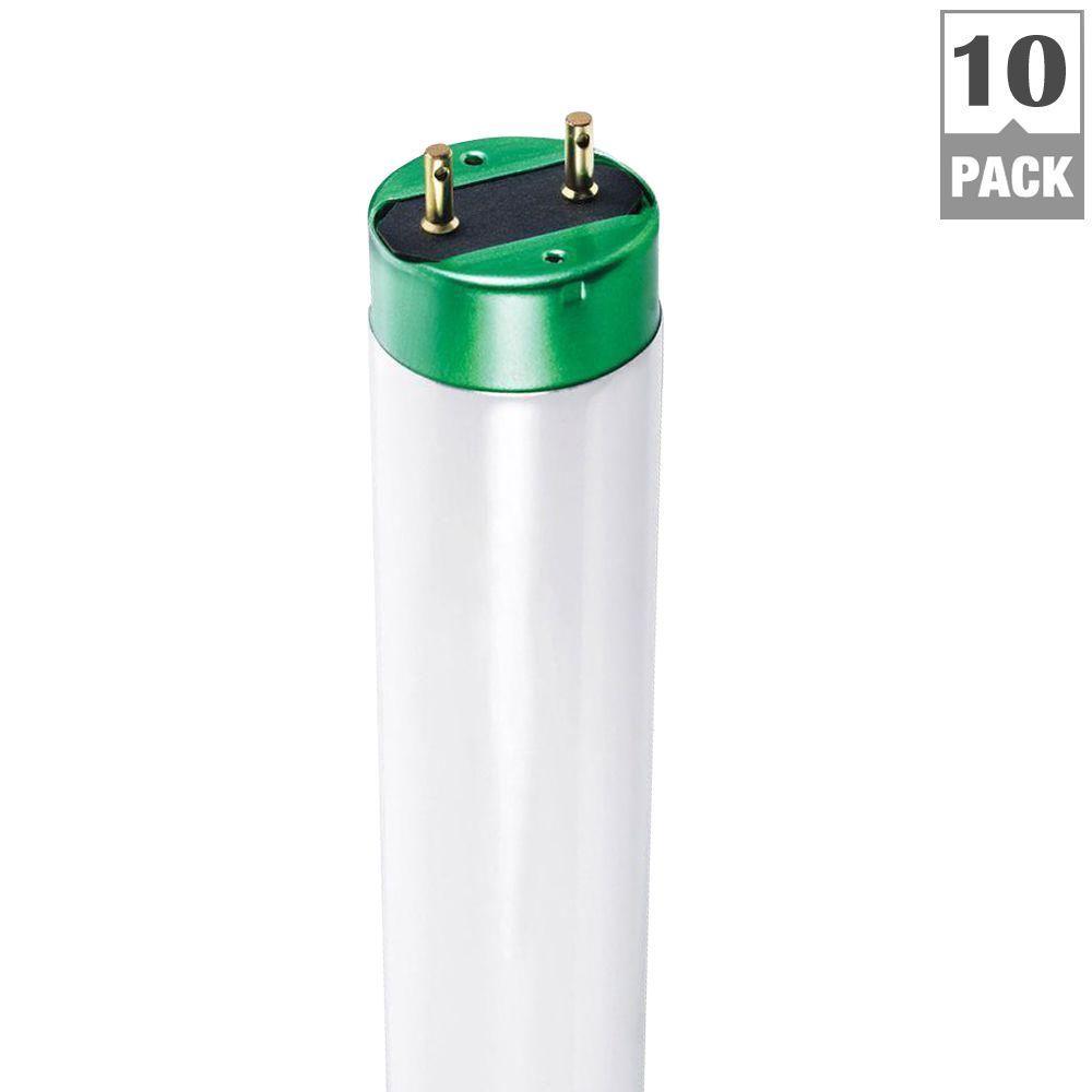 4 ft. T8 32-Watt Cool White ALTO Linear Fluorescent Light Bulb (10-Pack)