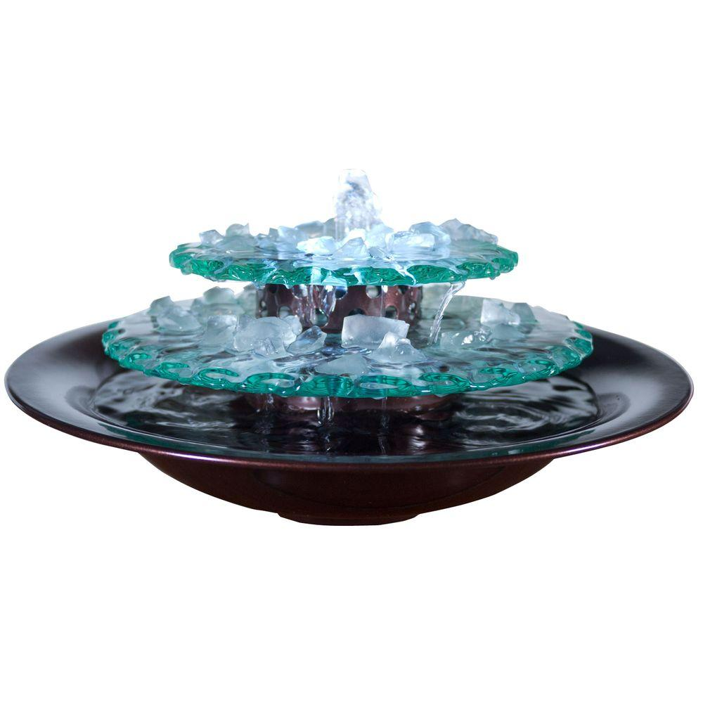 Bon Water Wonders Bluworld Moonlight Table Top Fountain
