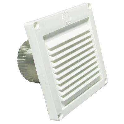 Micro Louver Eave Vent in White. Speedi Products   Eave Vents   Appliance Vents   The Home Depot