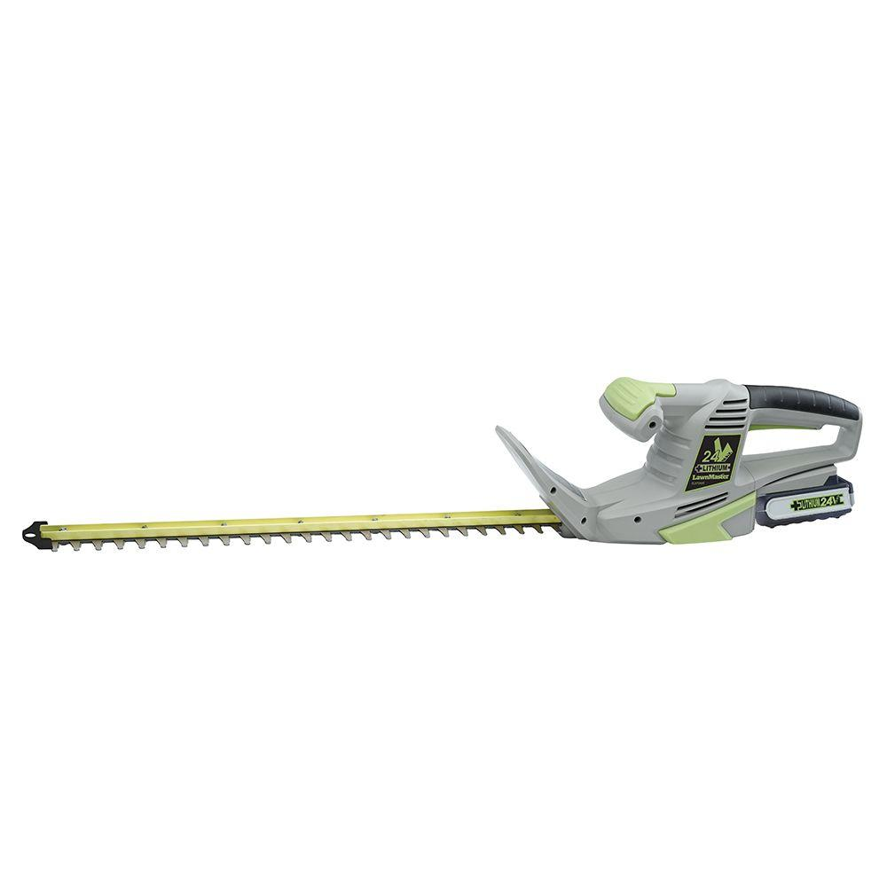 24-Volt Electric Cordless Hedge Trimmer