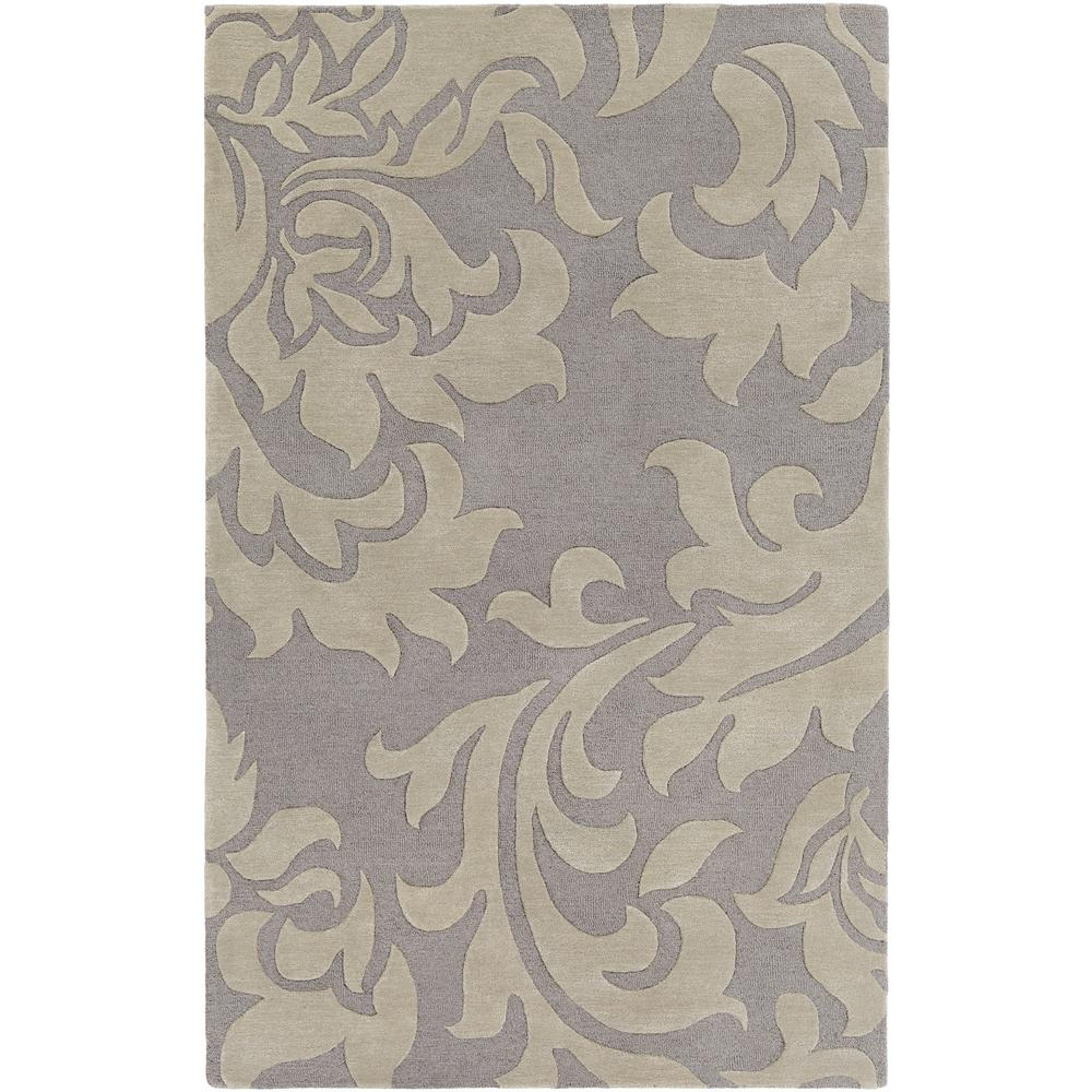 Lounge Heidi Gray 8 ft. x 10 ft. Indoor Area Rug