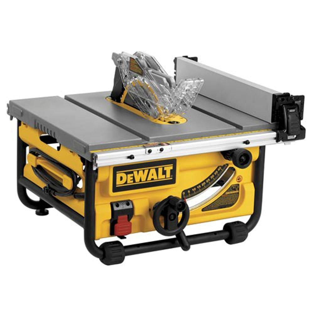 10 in. Compact Job Site Table Saw with Site-Pro Modular Guarding