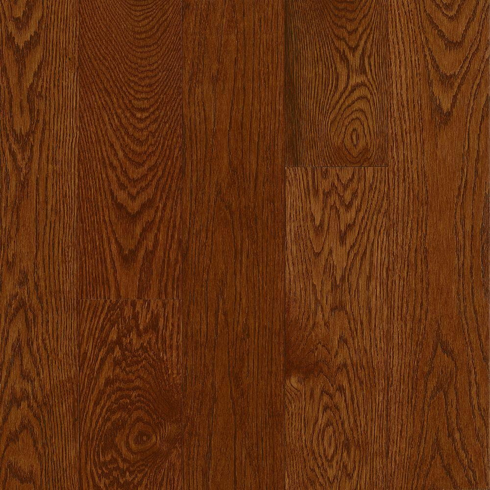 Bruce american originals deep russet oak 3 4 in thick x 5 for Hardwood floors 1000 square feet