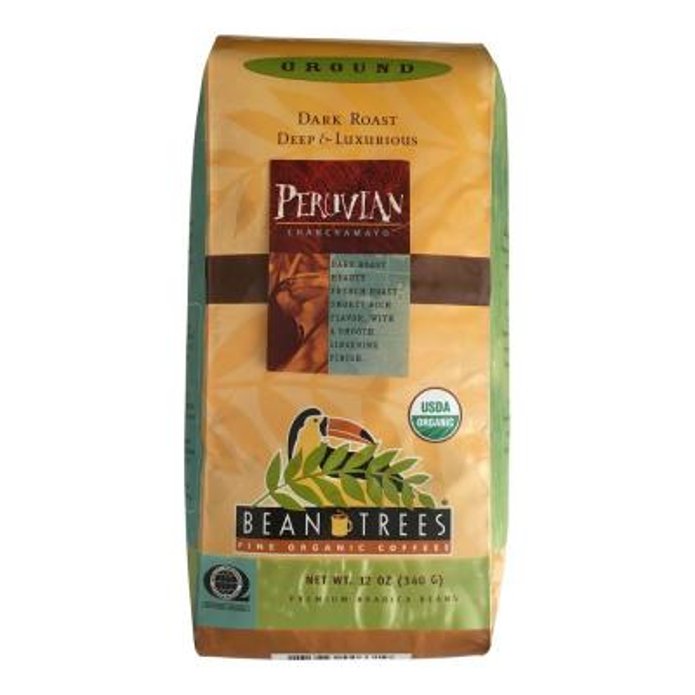 12 oz. Peruvian Chanchamayo Coffee Ground (3-Bags)