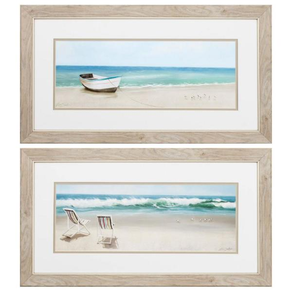 Homeroots Victoria 8 In X 10 In Brown Gallery Frame Set Of 2 365397 The Home Depot