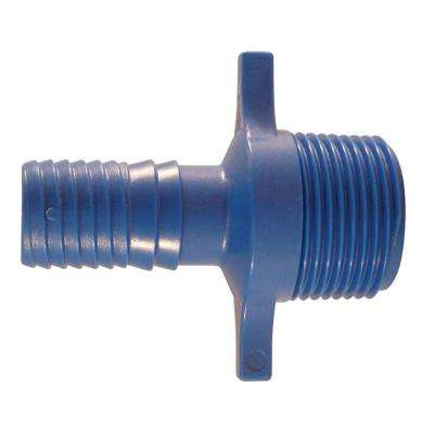 3/4 in. Blue Twister Polypropylene Insert x 1 in. MPT