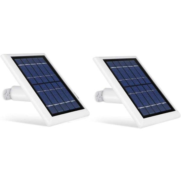 Solar Panel Compatible with Arlo Ultra, Arlo Pro 3 and Arlo Floodlight ONLY with 13.1ft Cable (2 Pack, White)