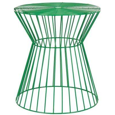 Adele Green End Table